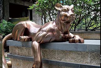 广州合景泰富地产园林小品雕塑