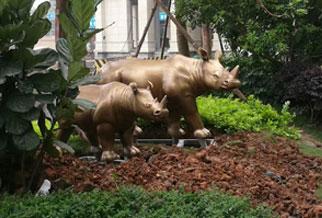 广州长隆地产小品雕塑