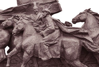 园林广场石雕