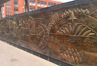 校园文化雕塑设计4