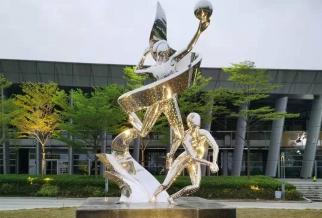 江门体育公园雕塑2