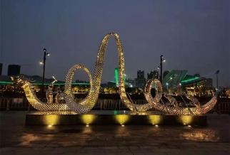 江门体育公园雕塑3
